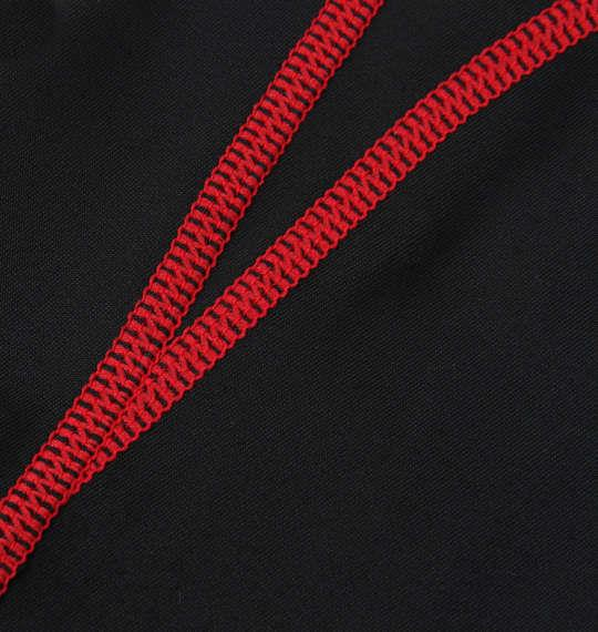大きいサイズ メンズ Phiten スポーツスリーブ X 30腕用  2枚入 腕 サポーター スポーツ ブラック × レッド 1149-7270-2 3L 4L 5L 6L