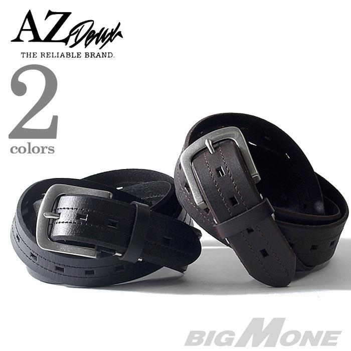 大きいサイズ メンズ AZ DEUX レザー ベルト ロングサイズ azcl-179045