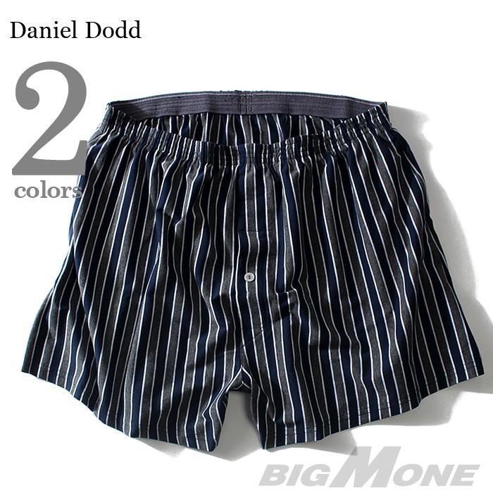 【大きいサイズ】【メンズ】DANIEL DODD ストライプ柄ニットトランクス azup-17502