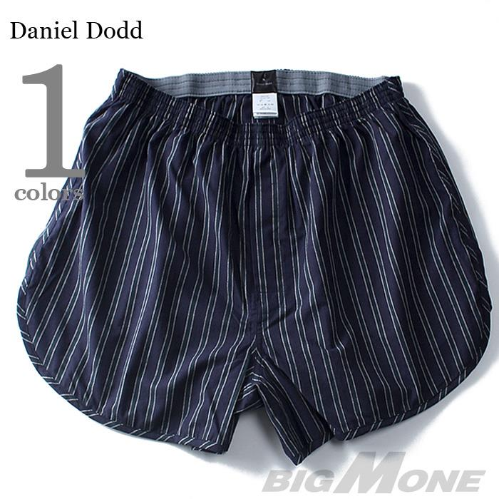 大きいサイズ メンズ DANIEL DODD インナー 前開き 布帛先染め トランクス 肌着 下着 azut-025