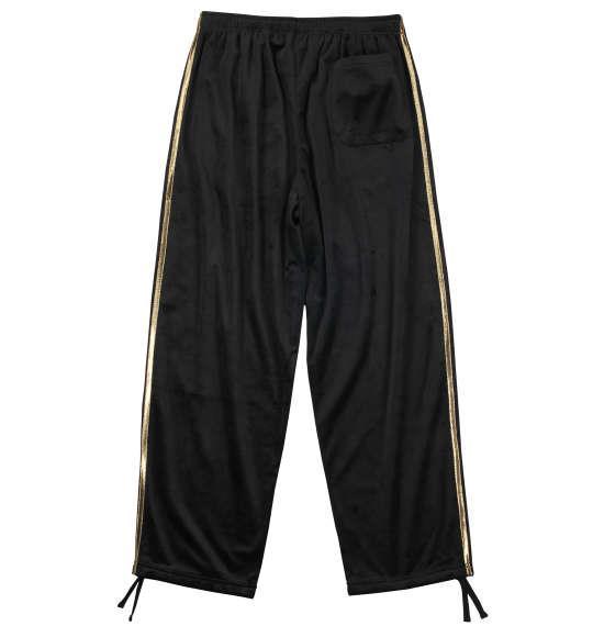 大きいサイズ メンズ ZAPATEAR ベロア フルジップパーカー 長袖 パーカー パンツ ズボン 上下セット ブラック 1158-7342-1 3L 4L 5L 6L 8L