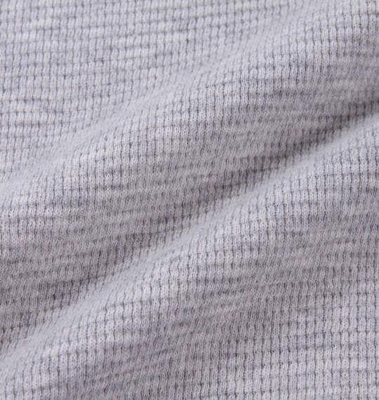 大きいサイズ メンズ BUNDESWEAR ワッフル ヘンリー 長袖 Tシャツ 長袖Tシャツ モクグレー 1168-7350-1 3L 4L 5L 6L 8L
