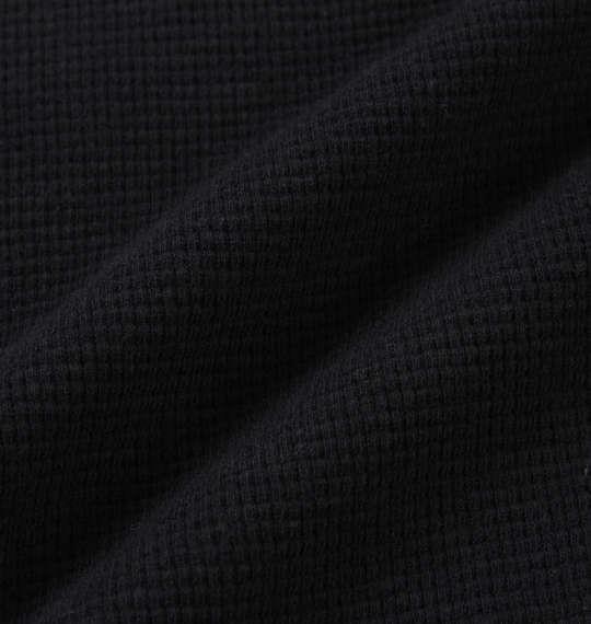 大きいサイズ メンズ BUNDESWEAR ワッフル ヘンリー 長袖 Tシャツ 長袖Tシャツ ブラック 1168-7350-2 3L 4L 5L 6L 8L