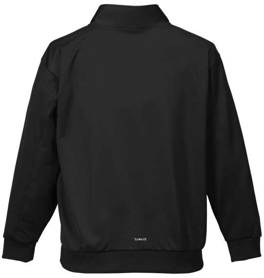 大きいサイズ メンズ adidas ウォームアップジャケット アウアー ジャンパー ジャケット ブラック 1176-7300-2 3XO 4XO 5XO 6XO 7XO 8XO