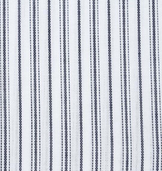 大きいサイズ メンズ HIROKO KOSHINO HOMME マイターB.D長袖シャツ ホワイト × ネイビー 1177-7303-1 3L 4L 5L 6L 7L 8L 9L