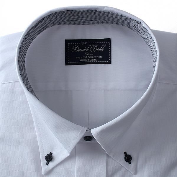 2点目半額 大きいサイズ メンズ DANIEL DODD ビジネス Yシャツ 長袖 ワイシャツ 形態安定 抗菌防臭 ボタンダウンシャツ ビジネスシャツeadn81-2
