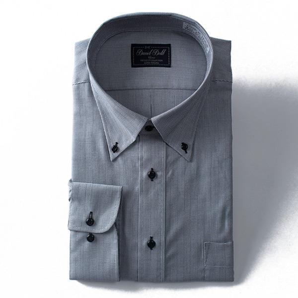 2点目半額 大きいサイズ メンズ DANIEL DODD ビジネス Yシャツ 長袖 ワイシャツ 形態安定 抗菌防臭 ボタンダウンシャツ ビジネスシャツeadn81-80