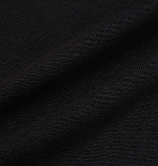 大きいサイズ メンズ SHELTY 裏毛 チェーン 刺繍 プルパーカー 長袖 ブラック 1158-7330-2 3L 4L 5L 6L