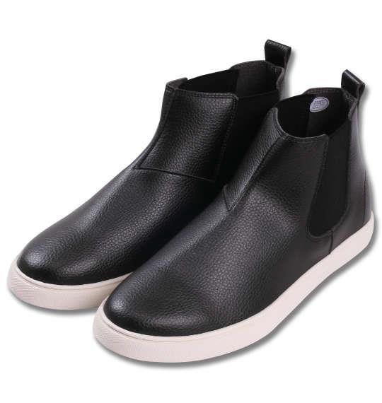 大きいサイズ メンズ シューズ 靴 BCR サイドゴアシューズ ブラック 1140-7321-2 30 31