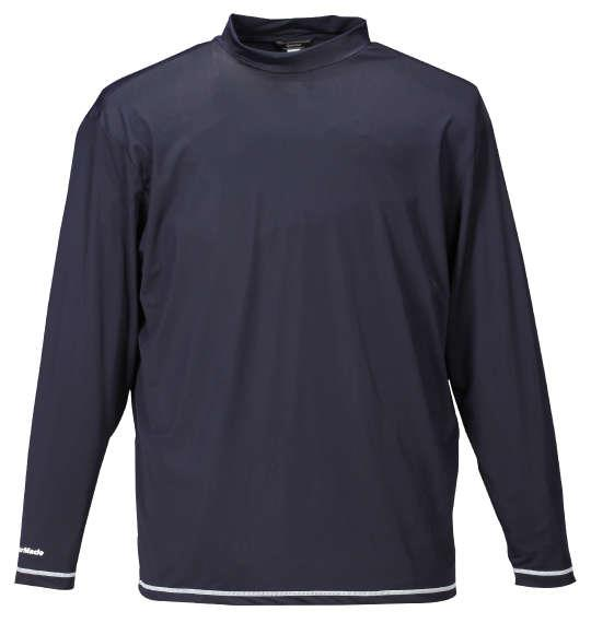 大きいサイズ メンズ TaylorMade カラーブロックレイヤードシャツ ホワイト × ネイビー 1178-7351-1 4XO 5XO 6XO