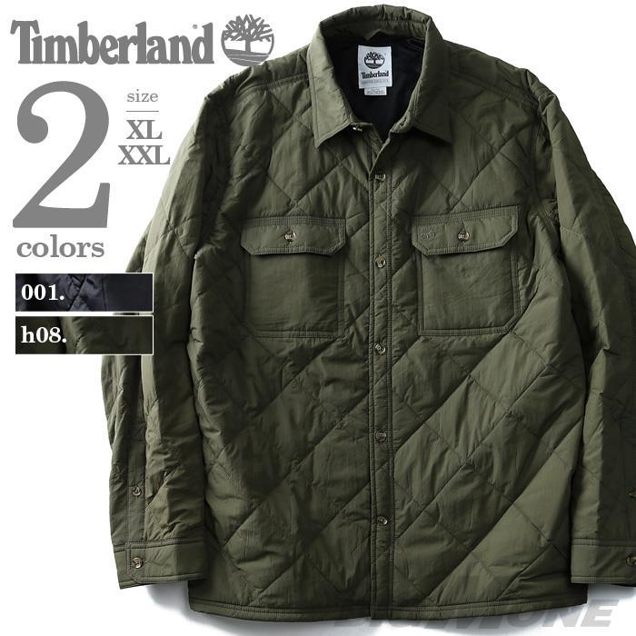 大きいサイズ メンズ TIMBERLAND ティンバーランド ジャケット アウター キルティング 中綿ブルゾン USA 直輸入 tb0a1plu