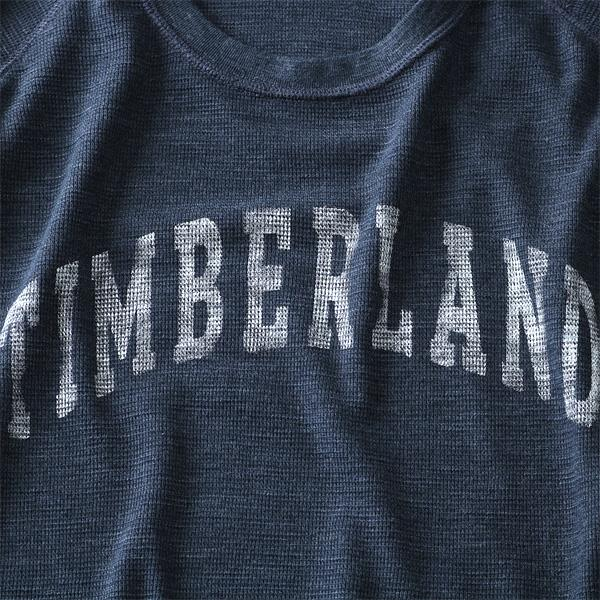大きいサイズ メンズ TIMBERLAND ティンバーランド 長袖Tシャツ ロンTラグラン 長袖 ワッフル Tシャツ USA 直輸入 tb08204j