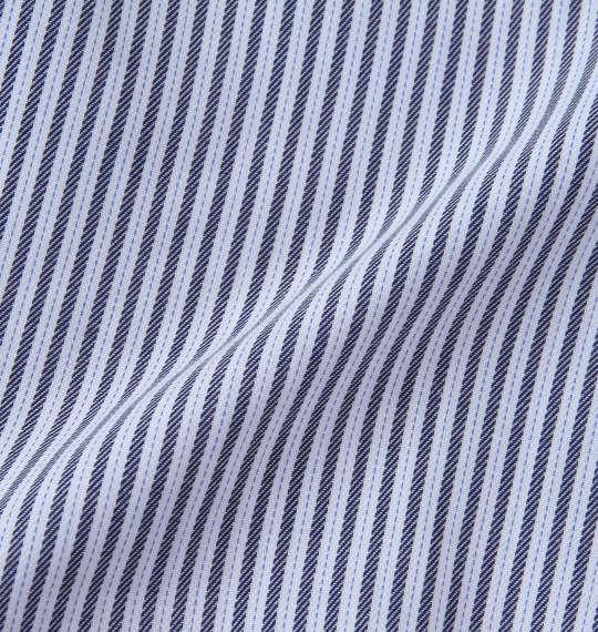 大きいサイズ メンズ HIROKO KOSHINO HOMME B.D長袖シャツ ネイビー × ホワイト 1177-7310-1 3L 4L 5L 6L 7L 8L 9L
