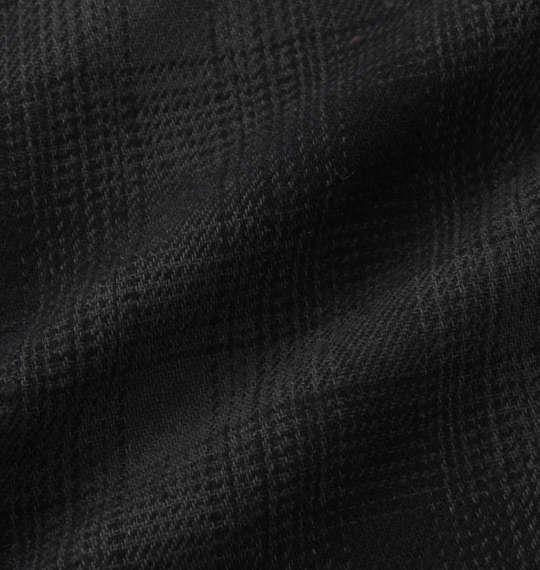 大きいサイズ メンズ FELIX THE CAT オンブレチェック長袖ネルシャツ チャコール × ブラック 1177-7360-2 3L 4L 5L 6L