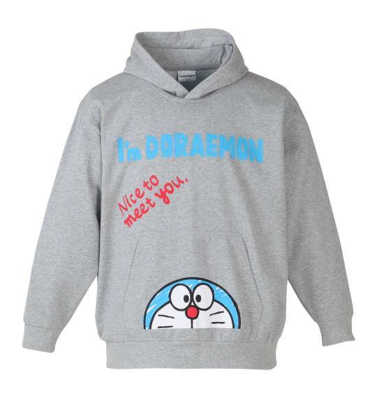 大きいサイズ メンズ I'm Doraemon プルパーカー モクグレー 1178-7396-1 3L 4L 5L 6L 8L