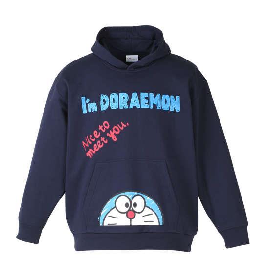 大きいサイズ メンズ I'm Doraemon プルパーカー ネイビー 1178-7396-2 3L 4L 5L 6L 8L