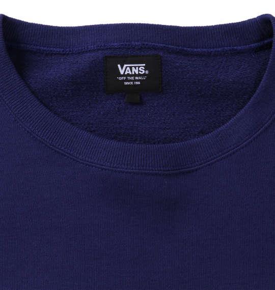 大きいサイズ メンズ VANS クルートレーナー ネイビー 1178-7600-1 3L 4L 5L 6L
