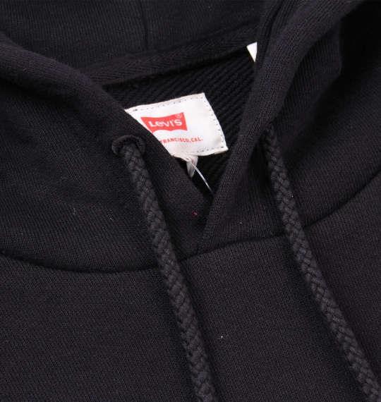 大きいサイズ メンズ Levi's プルパーカー ブラック 1178-7650-2 2XL 3XL