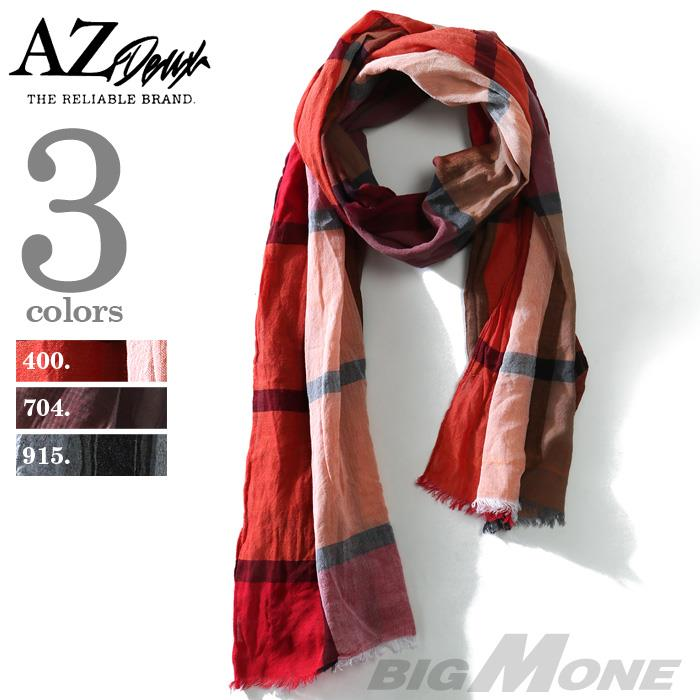大きいサイズ メンズ スカーフ AZ DEUX ロングストール azsc-179006