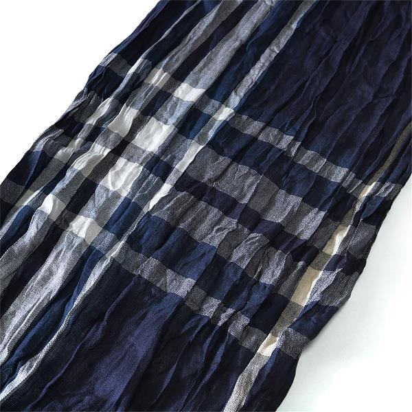 大きいサイズ メンズ スカーフ AZ DEUX ロングストール azsc-179007