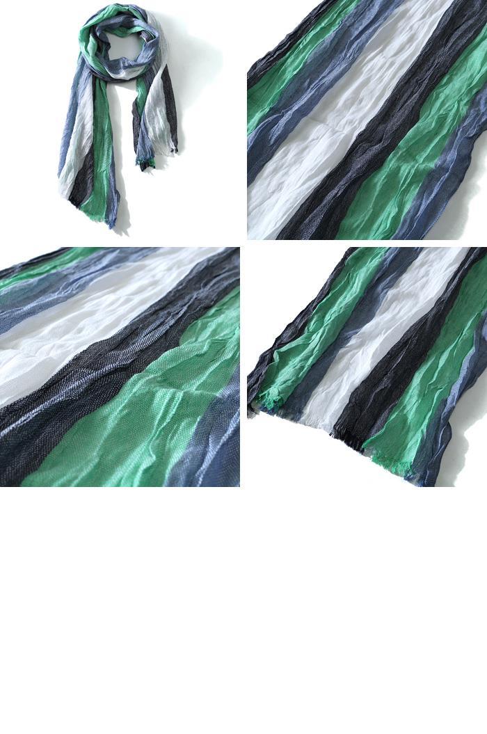 大きいサイズ メンズ スカーフ AZ DEUX ロングストール azsc-179008