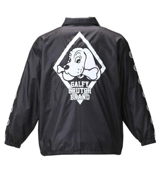 大きいサイズ メンズ GALFY コーチジャケット アウター ジャケット ブラック 1153-8100-2 3L 4L 5L 6L