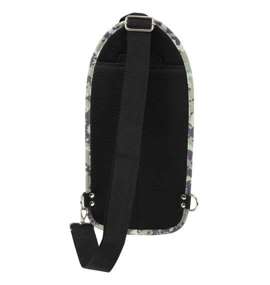 大きいサイズ メンズ ALPHA INDUSTRIES カーボンリップ マルチポケット タテ型 ボディバッグ カバン バッグ グレーデジカモ 1160-8121-1 F