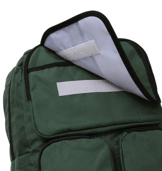 大きいサイズ メンズ OUTDOOR PRODUCTS オープン エアデイパック リュック リュックサック カバン バッグ グリーン 1160-8130-1 F
