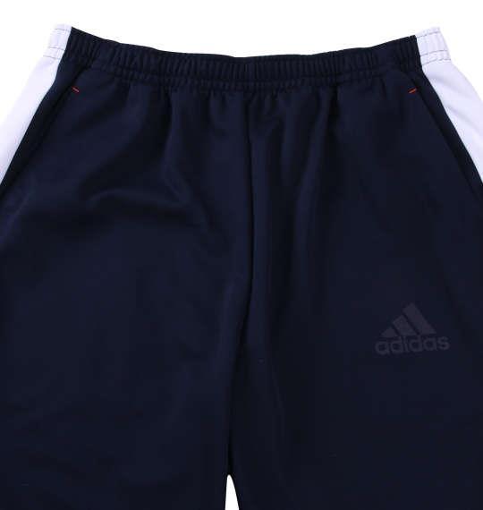大きいサイズ メンズ adidas ウォームアップ パンツ ボトムス ズボン ネイビー 1176-8151-1 3XO 4XO 5XO 6XO 7XO 8XO