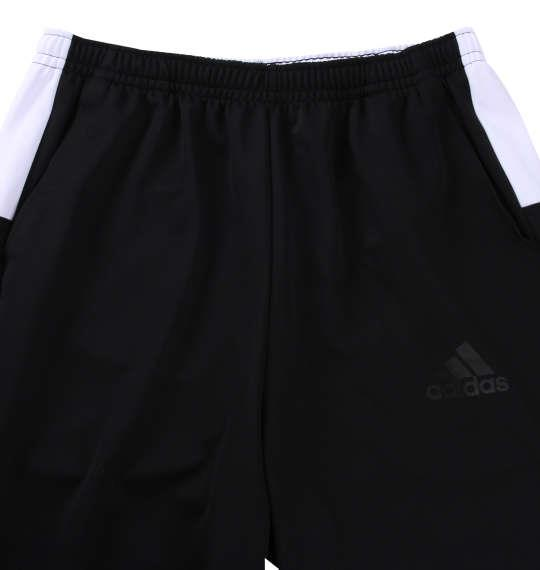 大きいサイズ メンズ adidas ウォームアップ パンツ ボトムス ズボン ブラック 1176-8151-2 3XO 4XO 5XO 6XO 7XO 8XO