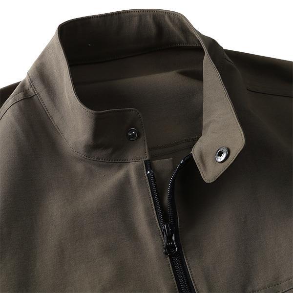 大きいサイズ メンズ DANIEL DODD ストレッチ シングル ライダースジャケット azb-1362