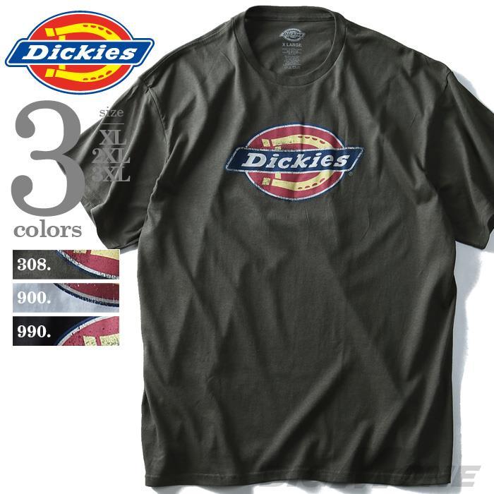 大きいサイズ メンズ Dickies ディッキーズ 半袖 Tシャツ グラフィック プリント 半袖 Tシャツ USA 直輸入 dks22897-2