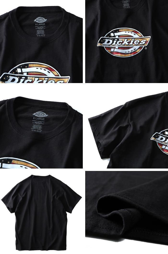 大きいサイズ メンズ Dickies ディッキーズ 半袖 Tシャツ グラフィック プリント 半袖 Tシャツ USA 直輸入 dks23190