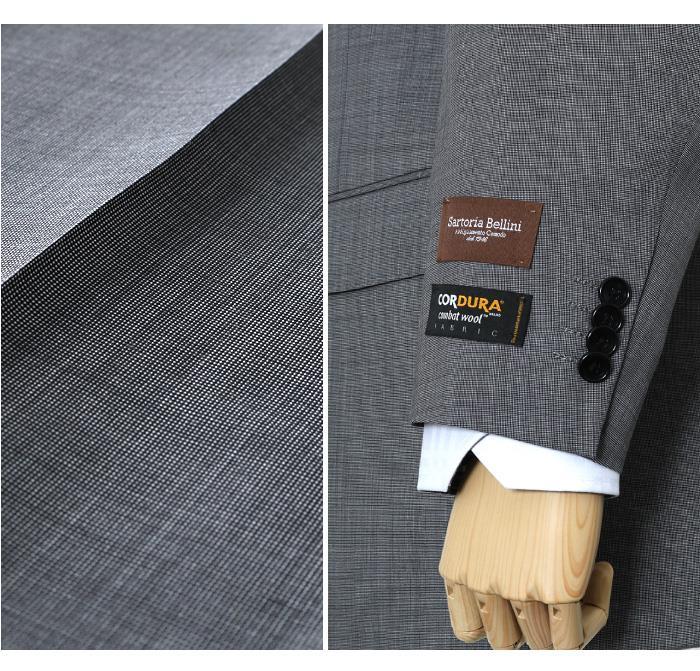 大きいサイズ メンズ SARTORIA BELLINI CORDURA (コーデュラ) 2ツ釦スーツ az82301-l