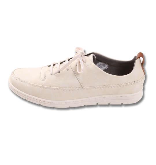 大きいサイズ メンズ シューズ 靴 BCR カジュアルシューズ オフホワイト 1140-8230-1 30 31