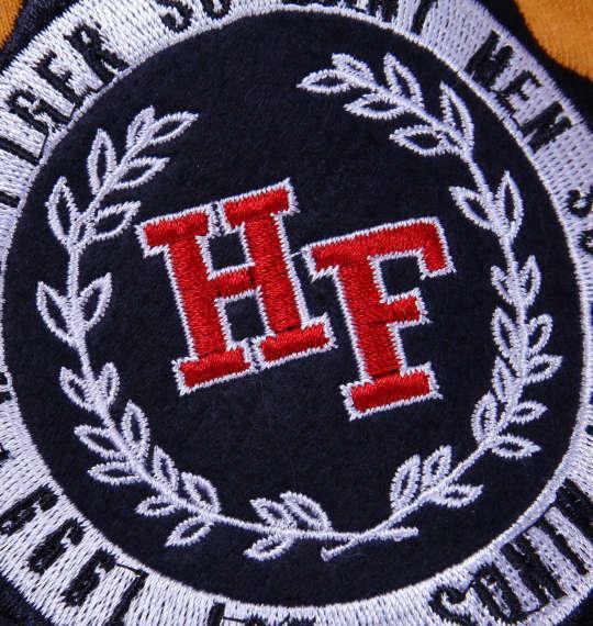 大きいサイズ メンズ H by FIGER ボーダー 半袖 ラガーシャツ イエロー × ネイビー 1168-8254-1 3L 4L 5L 6L 8L