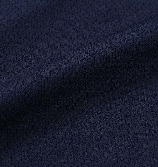 大きいサイズ メンズ UMBRO ドライメッシュニット半袖ポロシャツ ネイビー 1178-8261-1 3L 4L 5L 6L