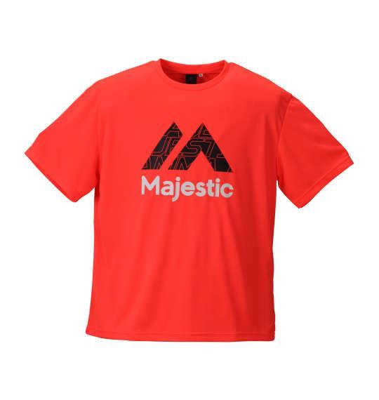 大きいサイズ メンズ Majestic 半袖Tシャツ オレンジ 1178-8271-3 3L 4L 5L 6L