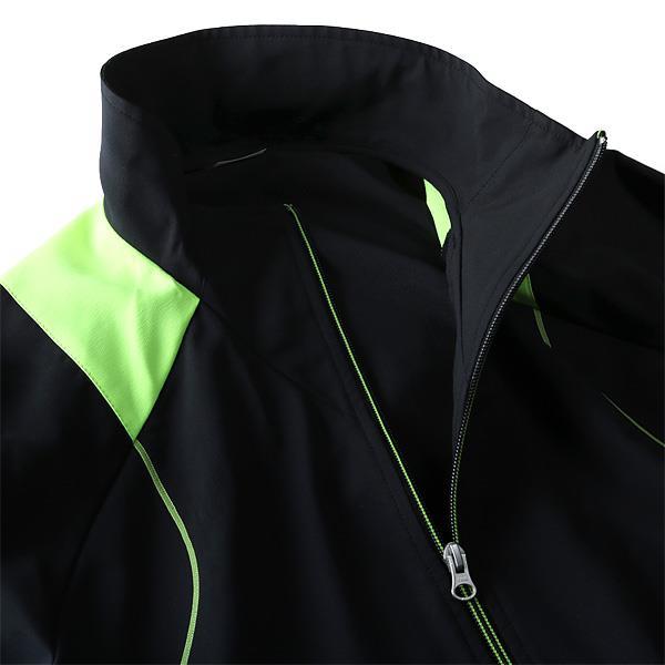 大きいサイズ メンズ MIZUNO ミズノ 吸汗速乾 トレーニング フルジップ クロスシャツ k2jc8b30
