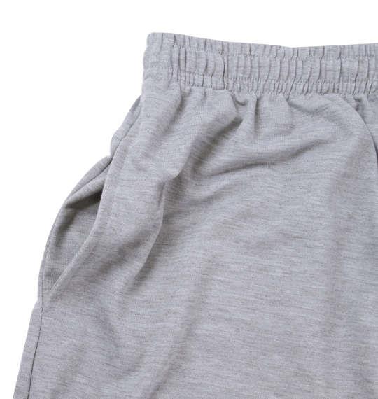 大きいサイズ メンズ 黒柴印和んこ堂 ミニ 裏毛 ハーフパンツ ズボン ボトムス パンツ 短パン モクグレー 1154-8250-1 3L 4L 5L 6L 8L