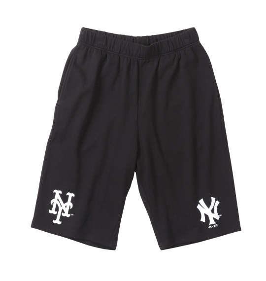 大きいサイズ メンズ Majestic NY&NY ドライメッシュ ニット ハーフパンツ ボトムス ズボン パンツ 短パン ブラック 1174-8225-2 3L 4L 5L 6L