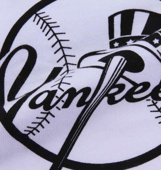 大きいサイズ メンズ Majestic MLBオーバープリント半袖Tパーカー ホワイト 1178-8532-1 3L 4L 5L 6L