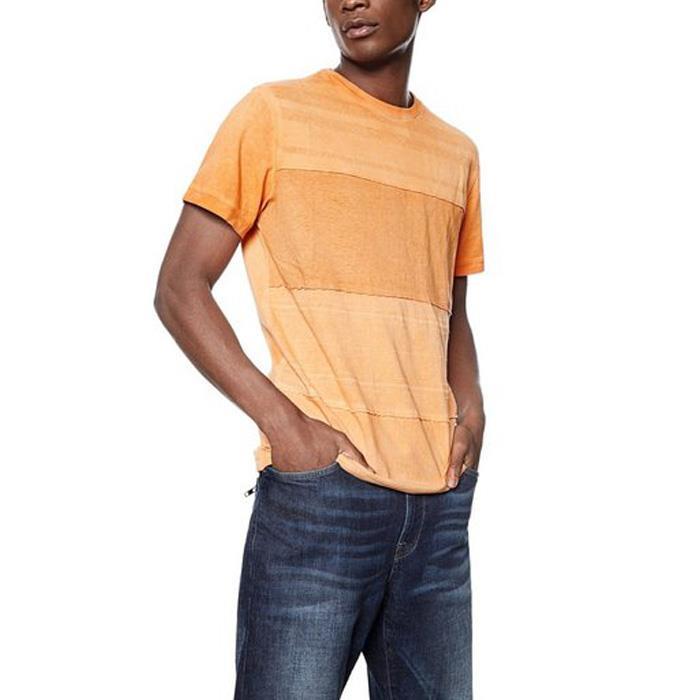 大きいサイズ メンズ DESIGUAL (デシグアル) 半袖プリントTシャツ 18smtk14