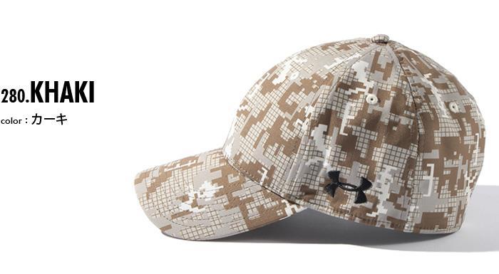 UNDER ARMOUR アンダーアーマー デザイン キャップ 帽子 USA 直輸入 メンズ 1285134