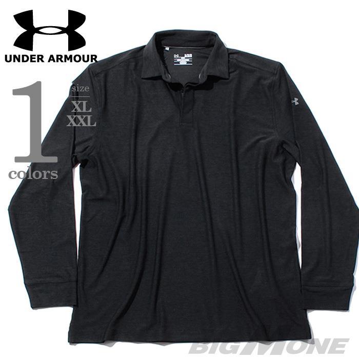 大きいサイズ メンズ UNDER ARMOUR アンダーアーマー 長袖 スポーツ ポロシャツ USA 直輸入 um0546