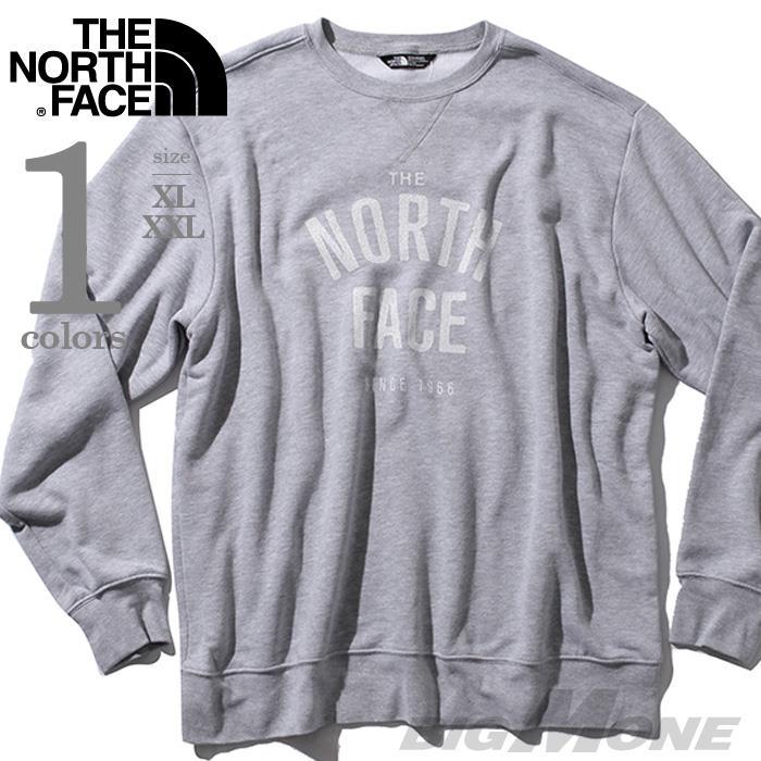 大きいサイズ メンズ THE NORTH FACE ザ ノース フェイス 長袖 トレーナー デザイントレーナー USA 直輸入 nf0a3ruggav