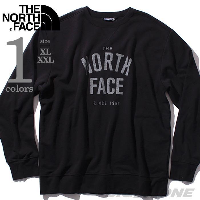 大きいサイズ メンズ THE NORTH FACE ザ ノース フェイス 長袖 トレーナー デザイントレーナー USA 直輸入 nf0a3rugetr