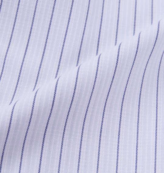 大きいサイズ メンズ HIROKO KOSHINO HOMME マイターB.D半袖シャツ サックス × ネイビー 1177-8253-1 3L 4L 5L 6L 7L 8L 9L