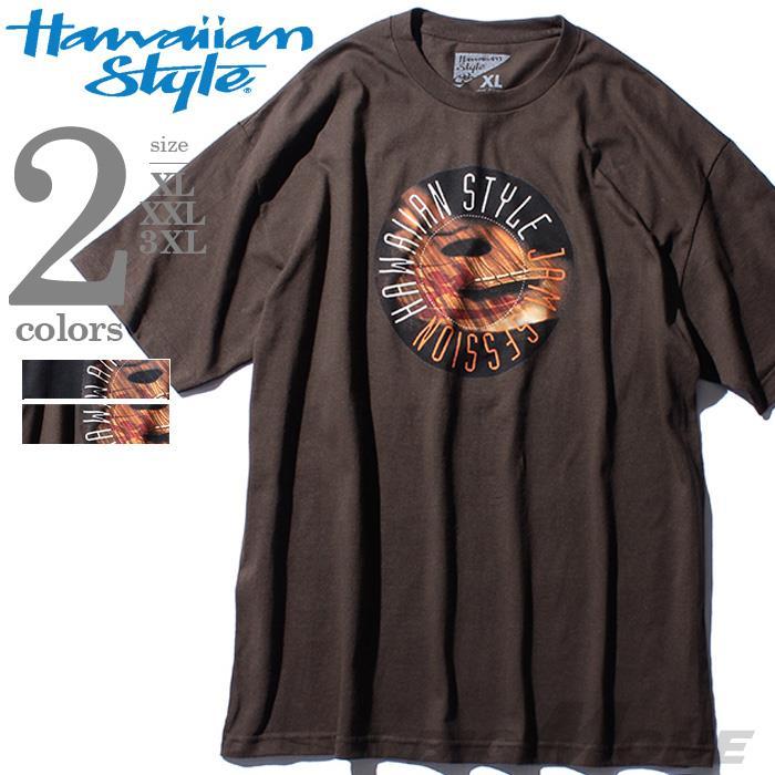 大きいサイズ メンズ HAWAIIAN STYLE ハワイアンスタイル LOCAL MOTION ローカルモーション 半袖 Tシャツ プリント 半袖Tシャツ USA 直輸入 mts-5109
