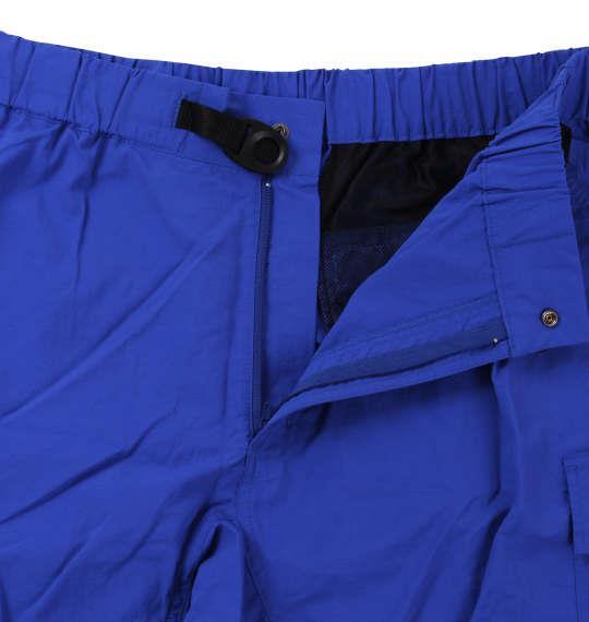 大きいサイズ メンズ OUTDOOR PRODUCTS ナイロン クライミング カーゴパンツ ハーフパンツ ズボン ボトムス パンツ 短パン ブルー 1154-8211-1 3L 4L 5L 6L 7L 8L